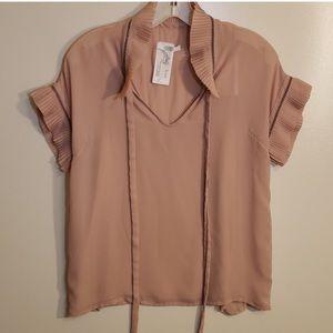 Bagutta Glorias Short Sleeve Blouse Size 8